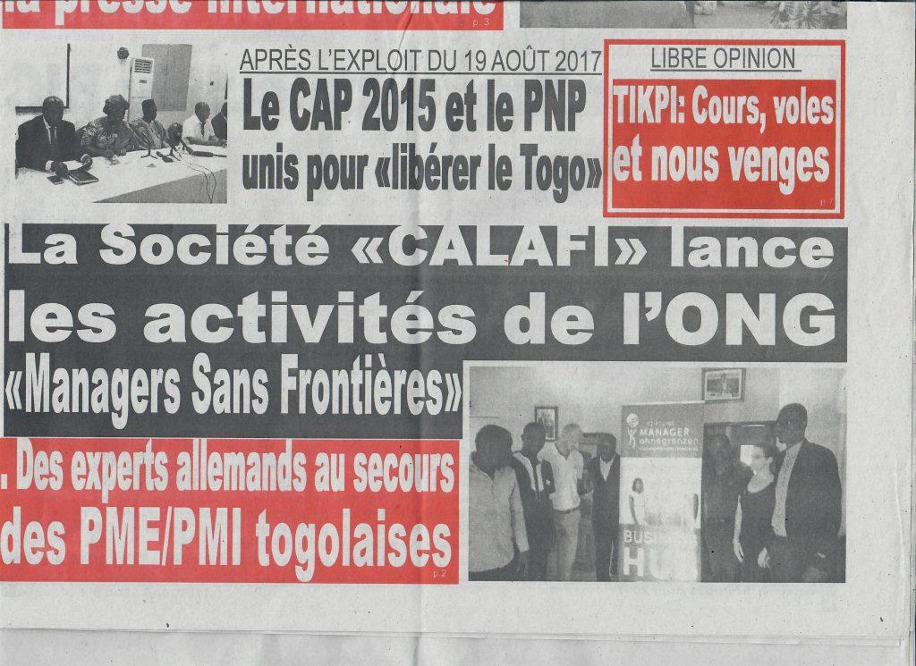 La Depeche Zeitung aus Togo