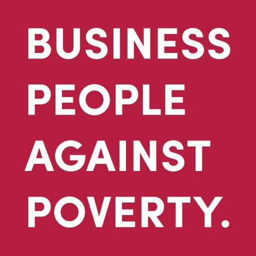 Business People Against Poverty Führungskräfte Wirtschaftsleute finanziell