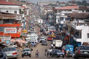Liberia Monrovia Logistik Bau Unternehmen Business