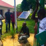 Solar-Projekt in Uganda, Kampala
