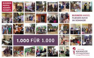 Aktion: 1000 für 1000 - Flyer vorne
