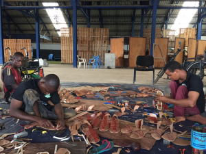 Mitglieder des Inklusionsprojektes in Guinea