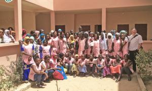Mädchen und Frauen des Ausbildungszentrums