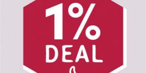 1 % Deal