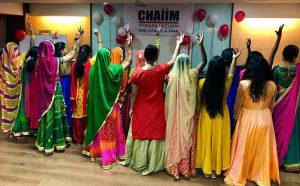 Die jungen Frauen erhalten bei CHAIIM eine Ausbildung und damit eine Zukunftsperspektive