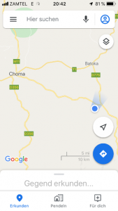 Chiefdom Cooma in Sambia