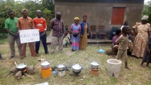 Uganda Cooking Demonstration