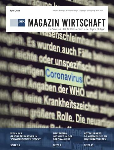 April 2020 - IHK Magazin Wirtschaft