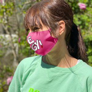 Be Iggy Schutzmaske in pink