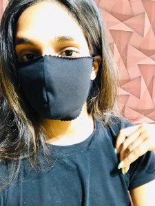CHAIIM näht Masken und stellt Hygieneartikel her