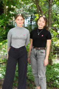 Young Leader managerohnegrenzen: Anna und Selina