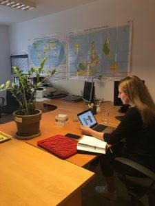 Aus dem Büro in Stuttgart in alle Welt - dank moderner Technik