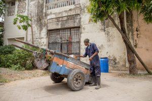KENIA, Mombasa - Dienstleister im Abfallsektor