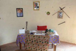Das Büro von Chief Cooma