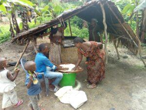 Kamerun Buea Maniok Produktion