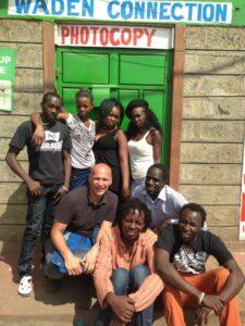 Bernd Roggendorf in Kenia im Einsatz