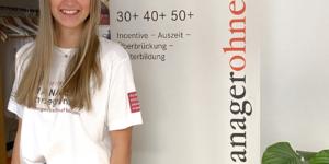 Cara Schnabel ist Praktikantin bei managerohngrenzen im Bereich internationales Projektmanagement