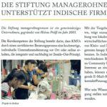 """Clipping Newsletter Indisches Honorarkonsulat Stuttgart 2021-07 """"mog unterstützt indische Firmen"""" teaserfoto"""